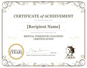 mental strength coach